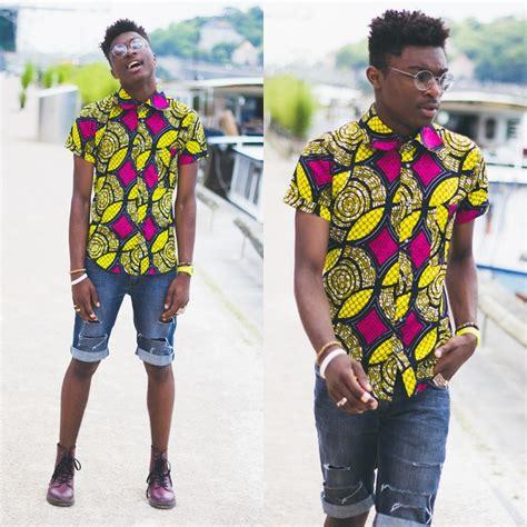 african print lookbook with shortede86 tollybabygrl la marc henri ngandu bl 233 dardise african motif shirt h m