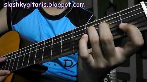 tutorial belajar gitar dari awal belajar kunci gitar f mayor untuk pemula youtube