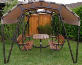 the ultimate outdoor glider swing a modern day twist on