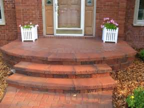 ideas brick steps steps and porches paverswalkways paver steps interlocking pavers