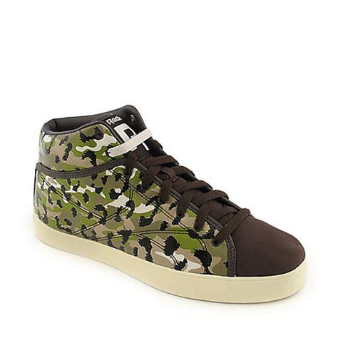 reebok and tyga t raww camo athletic lifestyle sneakers