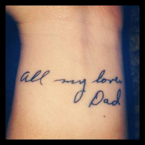 tattoo maker writing love dad dads and writing on pinterest