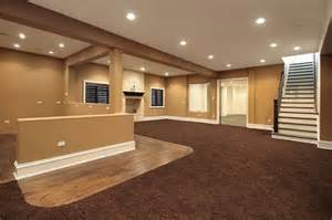 basement decorating ideas on a budget basement