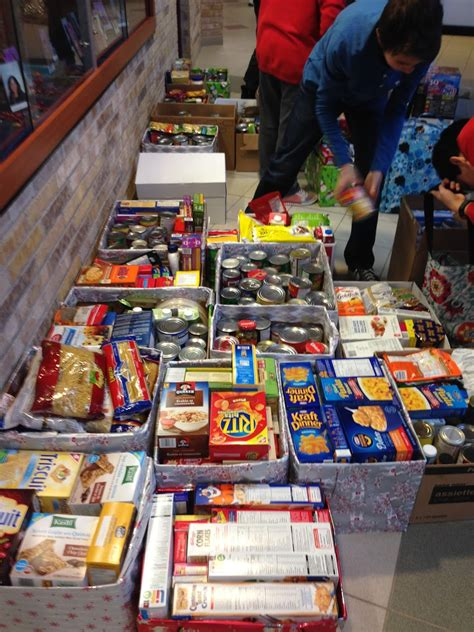 Local Food Pantry holy cross huskies news holy cross donates to the local