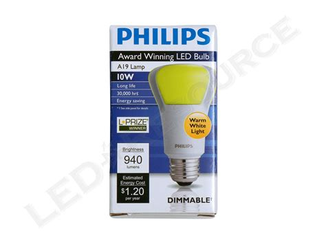 Philips L by Philips L Prize Award Winning Led Bulb Review Led Resource
