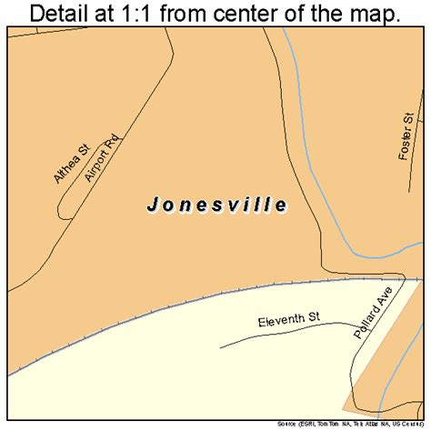 jonesville louisiana map jonesville louisiana map 2238775