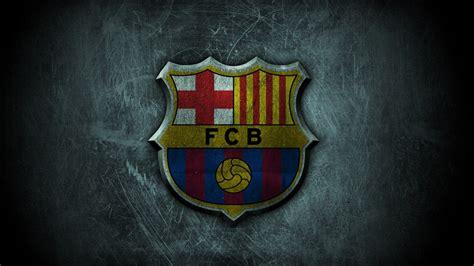 wallpaper barcelona hd barcelona fc football logo hd wallpaper of football