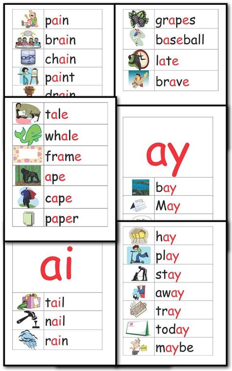 Ai Spelling Pattern | 17 best images about phonics ai and ay on pinterest the