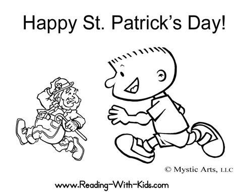 Saint Patrick S Day Coloring Pages Patricks Day Coloring Pages