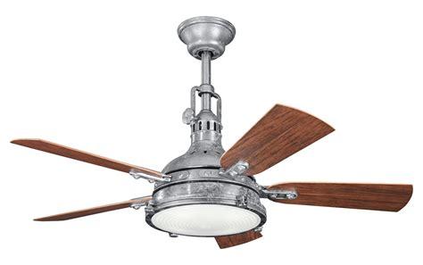 galvanized metal ceiling fan kichler kichler 310101gst galvanized steel 44 quot outdoor
