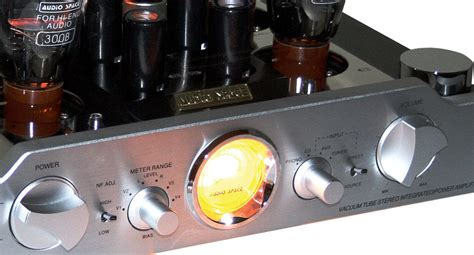 audio space reference  integrated tube amplifier review
