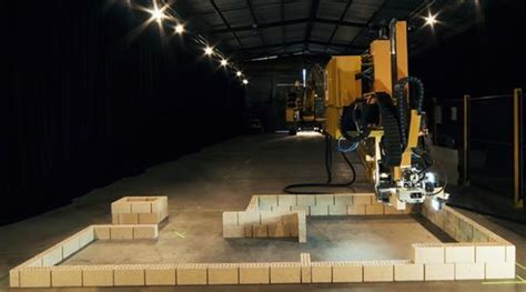 3ders.org   This brick laying 3D printer robot can build a