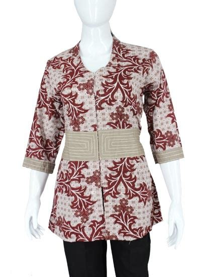 baju batik arimbi motif batik ceker ayam blus