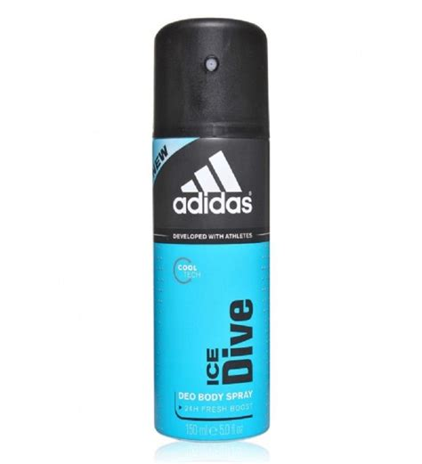 adidas ice dive adidas ice dive deodorant men 150 ml pack of 2 by adidas