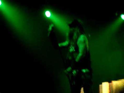 metallica zombie video rob zombie covers enter sandman live 11 06 09 youtube