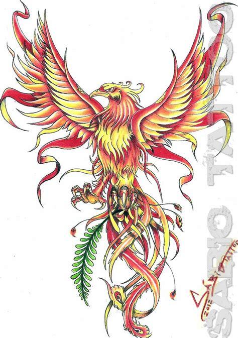 phoenix tattoo vorlagen kostenlos die besten 25 t 228 towierungen am unteren r 252 cken ideen auf