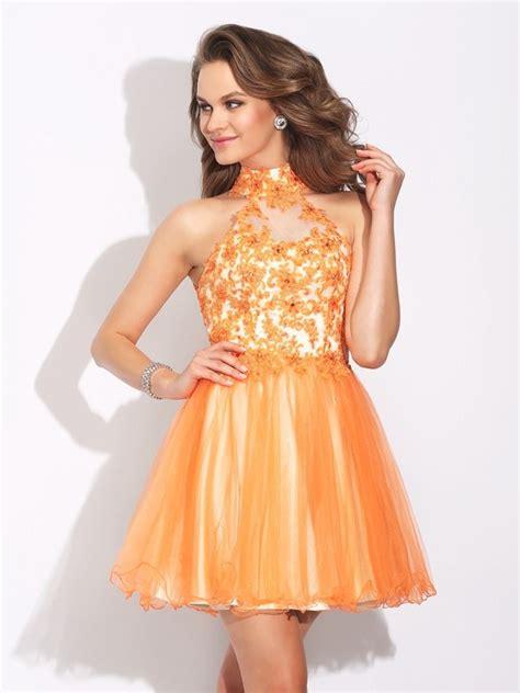 Sleeveless Ruffles Dress a line princess high neck ruffles sleeveless net