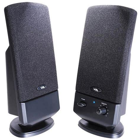 cyber acoustics 2 piece desktop computer speaker system