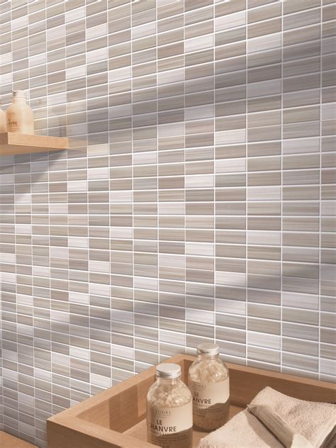 piastrelle bagno effetto mosaico bits gres porcellanato effetto mosaico marazzi