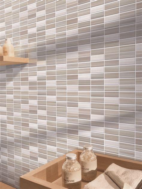 piastrelle finto mosaico per bagno bits gres porcellanato effetto mosaico marazzi