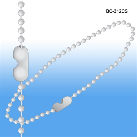 bead chain connector beaded chain connector style 12 quot 3 metal