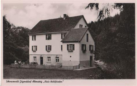Haus Waldfrieden by Altensteig Haus Waldfrieden Ca 1955 Nr 0069488