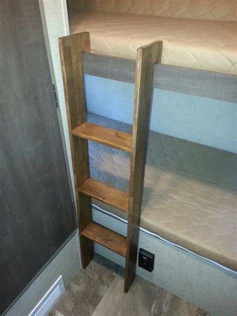 Wooden Bunk Bed Ladder by R Pod Bunk Ladder Traveling In Rvs Bunk Bed Ladder Rv