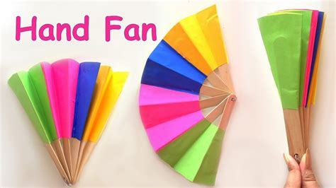 Craft Ideas From Waste Paper - diy paper fan best out of waste