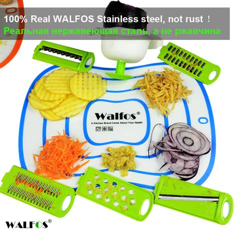 Kitchen Faucets For Less by Walfos Mandoline Peeler Grater Vegetables Cutter Tools
