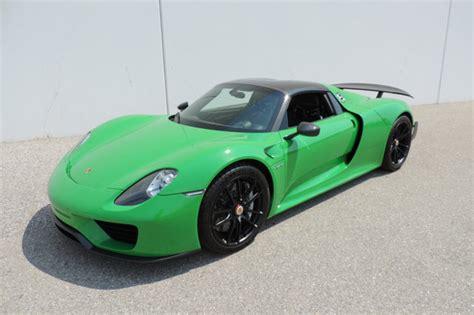 porsche viper green viper green porsche 918 spyder for sale at 1 999 999