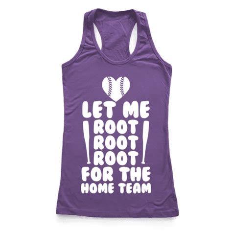 root root root for the home team racerback tank tops human