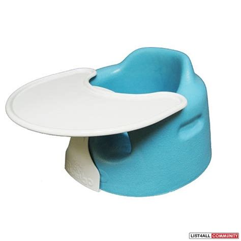 bumbo seat and tray bnib bumbo chair and tray gabbie list4all