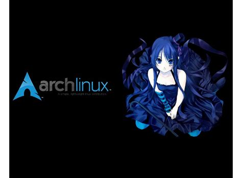anime themes gnome arch anime girl www gnome look org