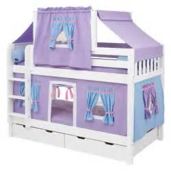 Bedroom designs simple girl bunk beds purple twin bed