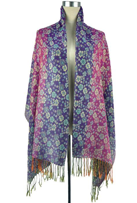 purple pashmina scarf shawl wholesale china scarf