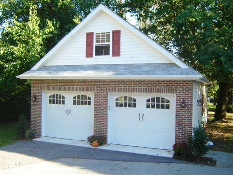 Two Car Garage With Carport by 2 Car Garages Garages By Opdyke