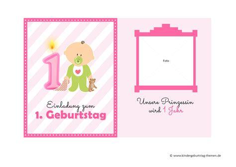 Karten Einladung by Einladung 1 Geburtstag Einladungen Geburtstag