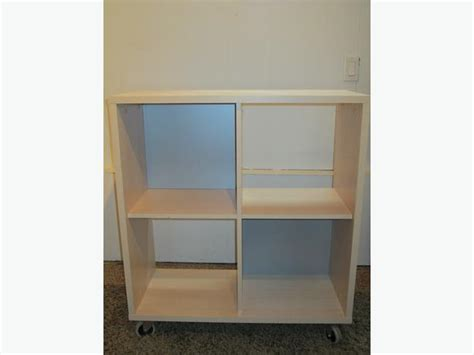 ikea cube shelf ikea cube storage book shelf on casters oak bay