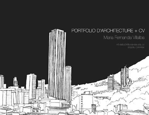 Design En Francais by Portfolio D Architecture Cv Fran 231 Ais By Fernanda