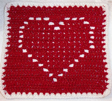 knitting pattern heart square smoothfox crochet and knit smoothfox s heart square 12x12