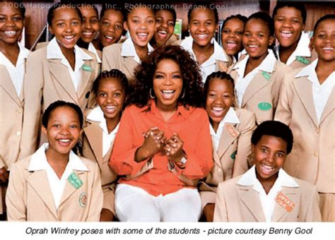 Oprah Opens Second School In Africa by Welcome To Echo The Voice Of Africa