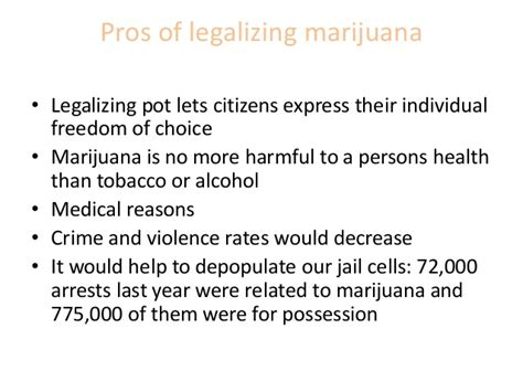 legalization of marijuana pros and cons essay pros and cons topics