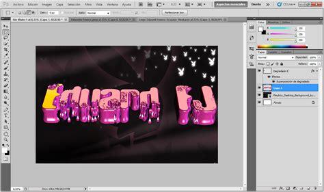 tutorial photoshop net tutorial photoshop efecto de texto 3d taringa