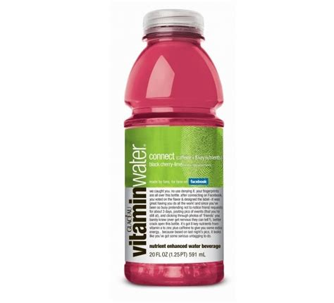 Vitamin Water Vitamin Water Connect A New Flavor My Modern Met