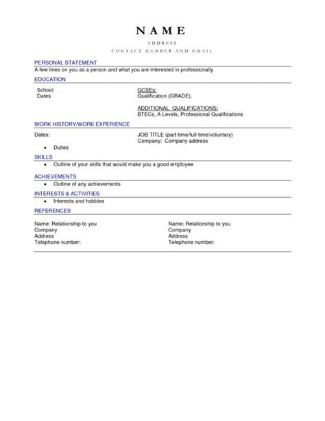 blank resume templates for microsoft word free blank resume templates for microsoft word template
