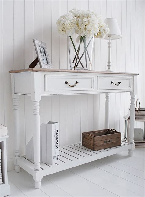 Hallway Console Table White Console Table For Furniture Style