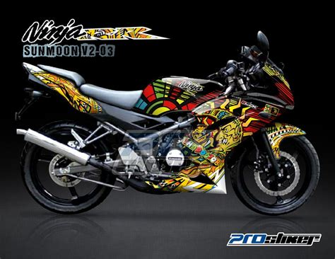 Decal Sticker Modifikasi Kawasaki 250 Fi Grey Data the gallery for gt kawasaki decal