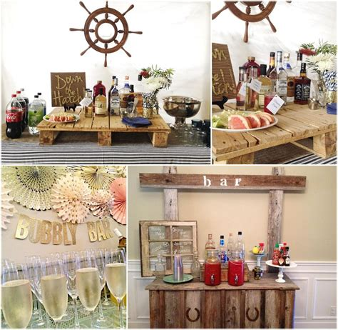 bar decorations for stock the bar decoration ideas stock the bar bridal