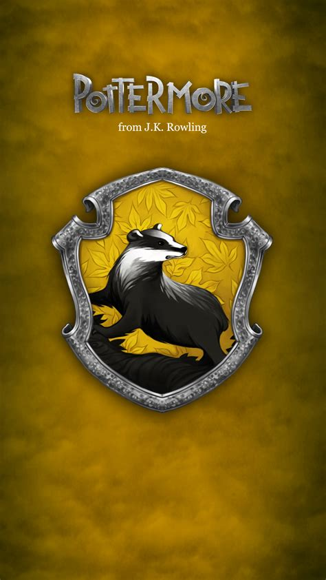 pottermore mobile app pottermore hufflepuff 1080 x 1920 wallpapers