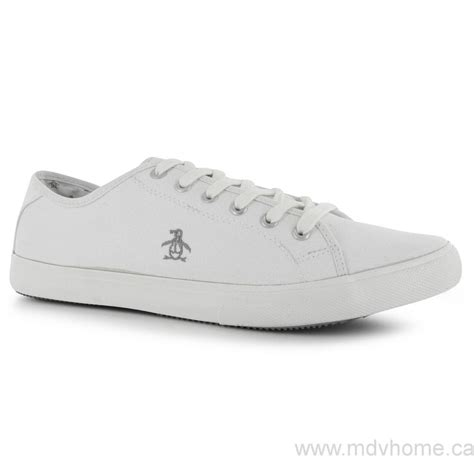 big bargains s penguin bod canvas shoes white shoes